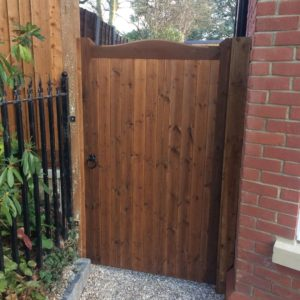 Curved Topped Garden Gate gates